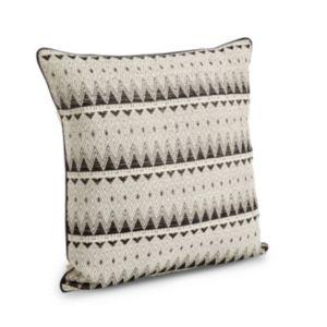 Clarenza Geometric Black & White Cushion