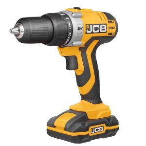 JCB Cordless 20V 1.5Ah Li-Ion Cordless Combi Drill 2 Batteries JCB-CD20LI2.2