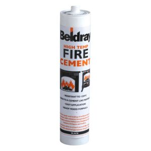 Image of Beldray High temp Ready mixed Fire cement 0.6kg