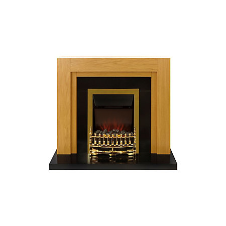 beldray lytham electric fire suite departments diy at b q. Black Bedroom Furniture Sets. Home Design Ideas