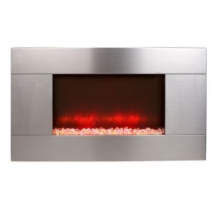 View Beldray Pittsburgh Remote Control Wall Hung Electric Fire Suite details
