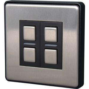 Image of Lightwave 2-Way Brushed Smart Dimmer Switch of 1