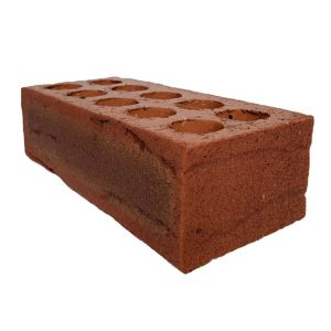 View Wienerberger Brick Red Clay Facing Brick (H)102.5mm (W)65mm (L)215mm 2.206kg details