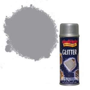 View Plasti-Kote Glitter Silver Glitter Effect Spray Paint 200ml details