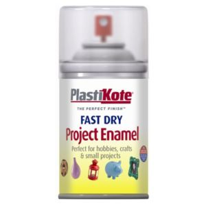 View Plasti-Kote Fast Dry Clear Gloss Enamel Paint 59ml details