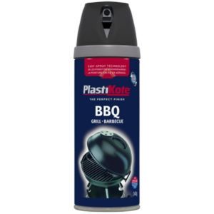 View Plasti-Kote Black Satin BBQ Paint details