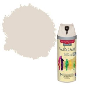 View Valspar Paint & Primer In One Apricot Whisper Matt Spray Paint 400ml details