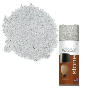 spray paint 400ml valspar gotham grey stone effect matt spray paint. Black Bedroom Furniture Sets. Home Design Ideas