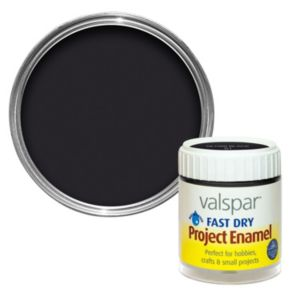Valspar Black Gloss Enamel Paint 59 ml