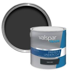 Image of Valspar trade Trade Dark grey Multi surface Primer 2.5L