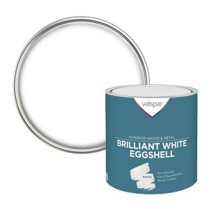 Image of Valspar Pure brilliant white Eggshell Paint 2.5L