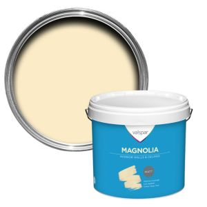 Image of Valspar Magnolia Matt Emulsion paint 12L