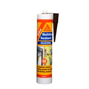 Image of Sikasil Multi-Purpose Brown Building Sealant