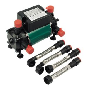 View Salamander Pumps Black & Green Twin Positive Head Regenerative Pump (H)160mm (W)150mm (L)250mm details