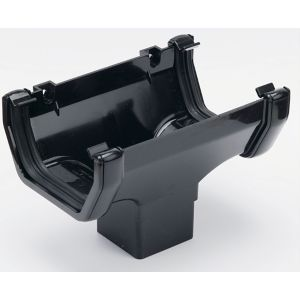 View Floplast Black PVCu Running Outlet details