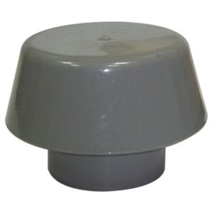 View Floplast Ring Seal Soil Extract Cowl (Dia)110mm, Grey details