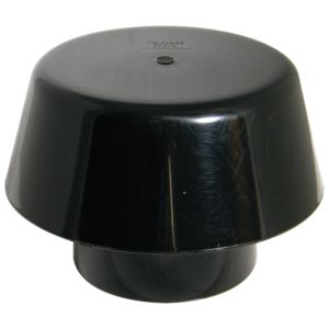 View Floplast Ring Seal Soil Extract Cowl (Dia)110mm, Black details