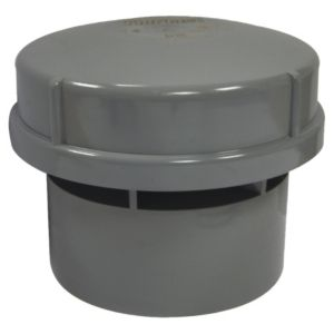 View Floplast Solvent Weld Air Admittance Valve (Dia)110mm, Grey details