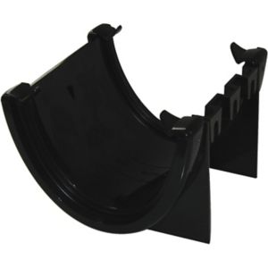 View Floplast Hi-Cap Gutter Union Bracket (Dia)115 mm, Black details