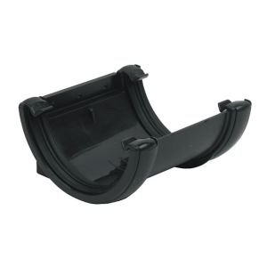 View Floplast Miniflo Gutter Union Bracket (Dia)76 mm, Black details
