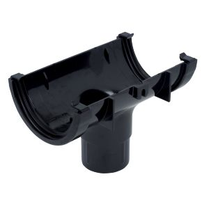 View Floplast Black PVCu Running Outlet (Dia)76mm details