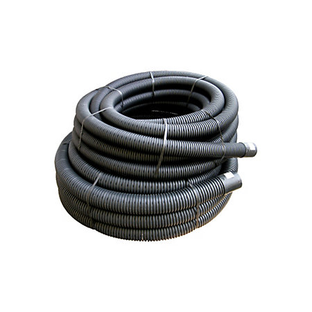 floplast land drainage flexible coil pipe dia 80mm black