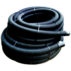 View Floplast Land Drainage Flexible Coil Pipe (Dia)100mm, Black details