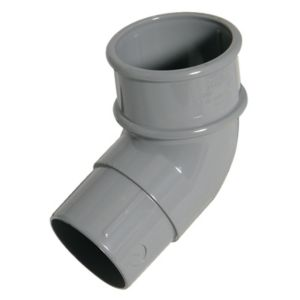 View Floplast Grey PVCu Round Downpipe Socket (Dia)50mm details