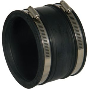 View Floplast Underground Drainage Flexible Coupling (Dia)115mm, Black details