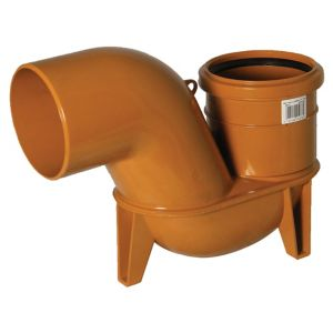 View Floplast Terracotta Trap (Dia)110mm (L)132mm details
