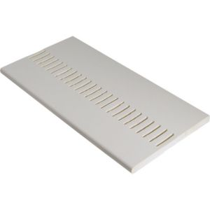 View White Vented Soffit Board 4000X225X10mm Pack of 2 details