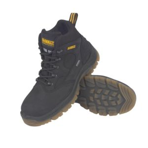 View DeWalt Challenger Black Steel Toe Cap Nubuck Leather Boots, Size 11 details