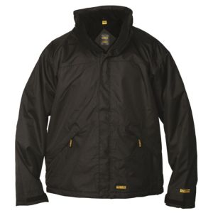 View DeWalt Black Waterproof Jacket Large details