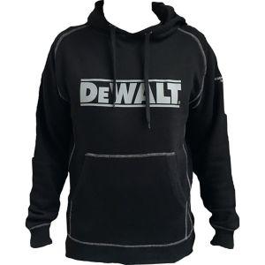 Image of DeWalt Heritage Black Hooded sweatshirt Extra large