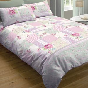 View Chartwell Vintage Pink Check Kingsize Bed Cover Set details