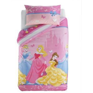 View Disney Multicolour Princess Single Children's Duvet Set details
