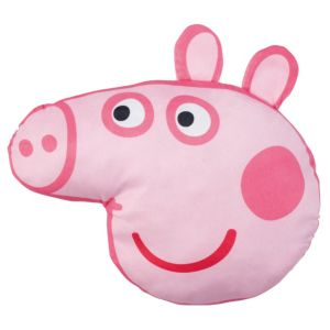 View Peppa Pig Head Pink Cushion details