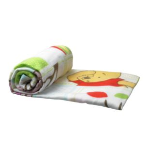 View Multicolour Winnie The Pooh Fleece Blanket details
