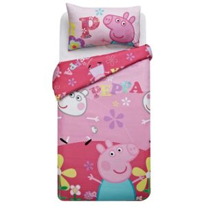 View Peppa Pig Multicolour Single Children's Duvet Set details