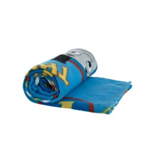 View Blue, Red & Yellow Thomas The Tank Engine Fleece Blanket details