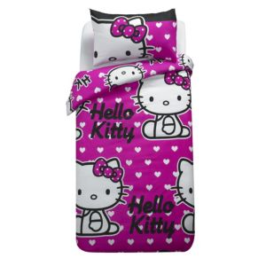 View Multicolour Hello Kitty Single Children's Duvet Set details