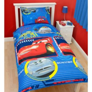 Disney Cars Multicolour Single Duvet Set