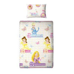 View Disney Princess Locket Multicolour Single Children's Duvet Set details