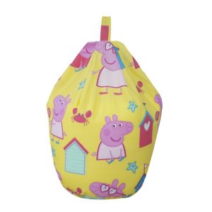 View Peppa Pig Pink & Yellow Bean Bag details