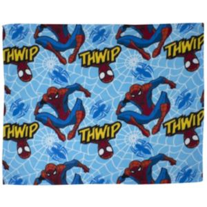 View Marvel Blue & Red Spiderman Fleece Blanket details
