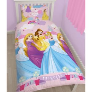 Disney Disney Princess Enchanting Multicolour Single Bed Set