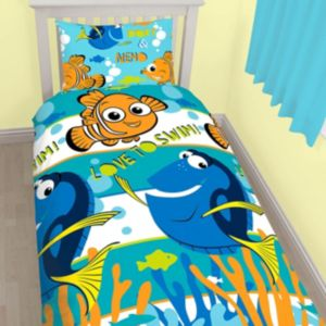 Image of Disney Pixar Finding Dory Finding Dory Multicolour Single Bed Set