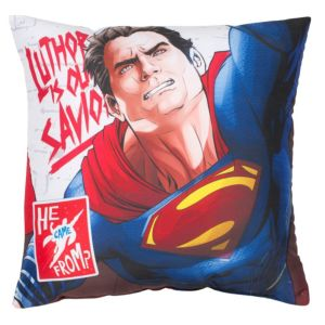 Image of Batman v Superman Reversible Multicolour Cushion