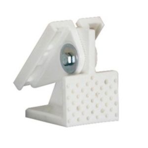 View Home Decor Plastic Angled Ceiling Bracket (L)125mm, Pack of 4 details