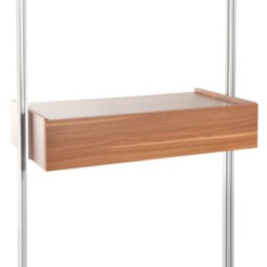 View Space Pro Relax Walnut Effect Trouser Rack (W)900mm details